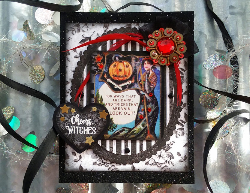 Strong Female Images on This Year's Halloween Cards