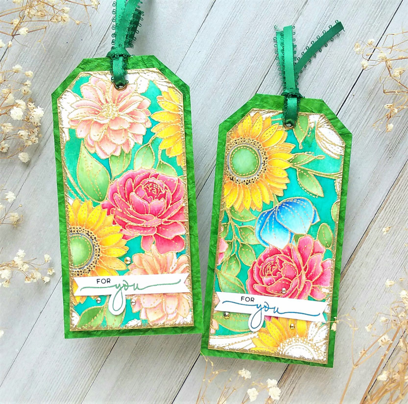 Floral Mix Tags
