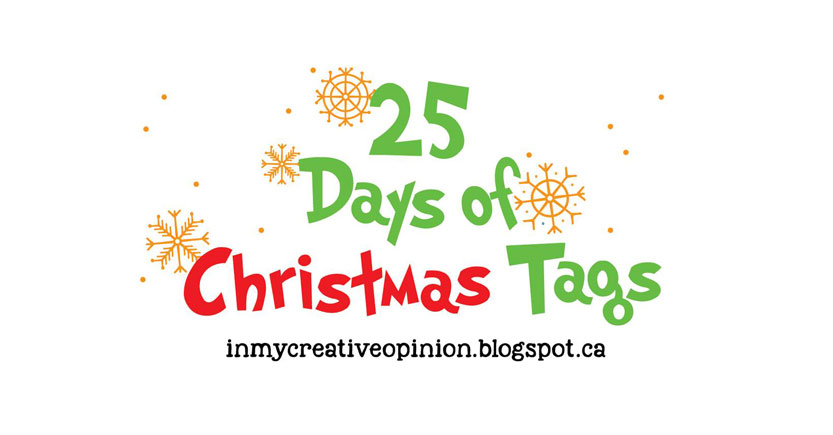 25 Days of Christmas Tags!