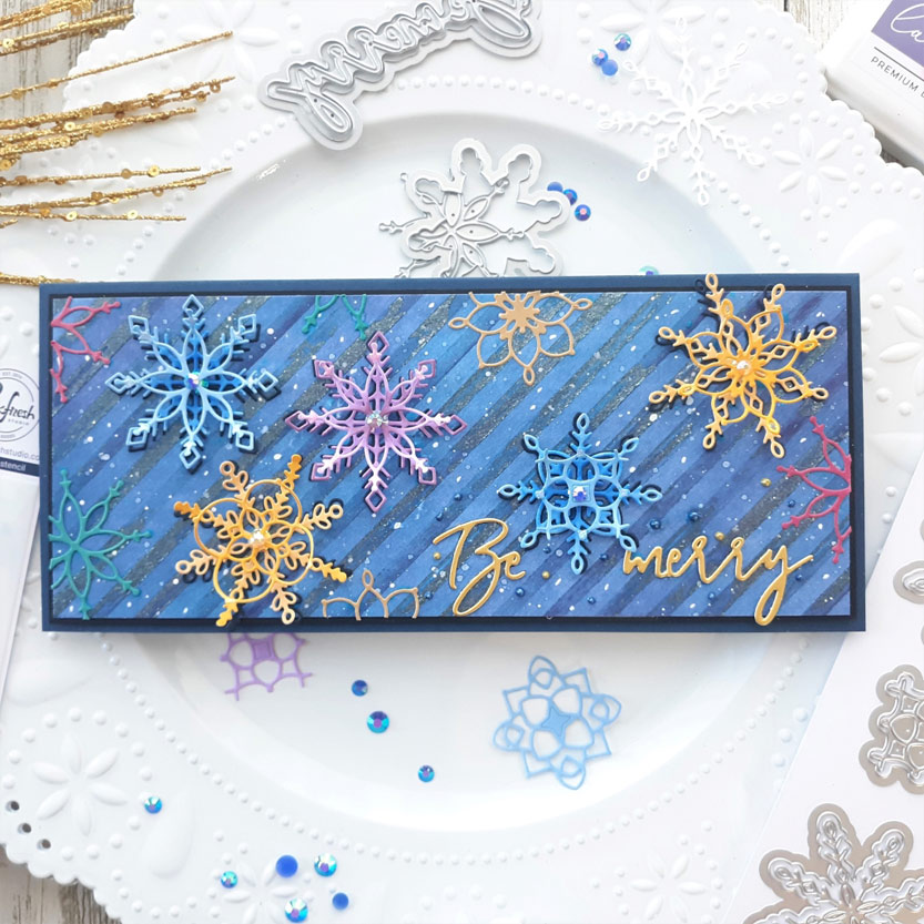 Lacy Layered Snowflakes