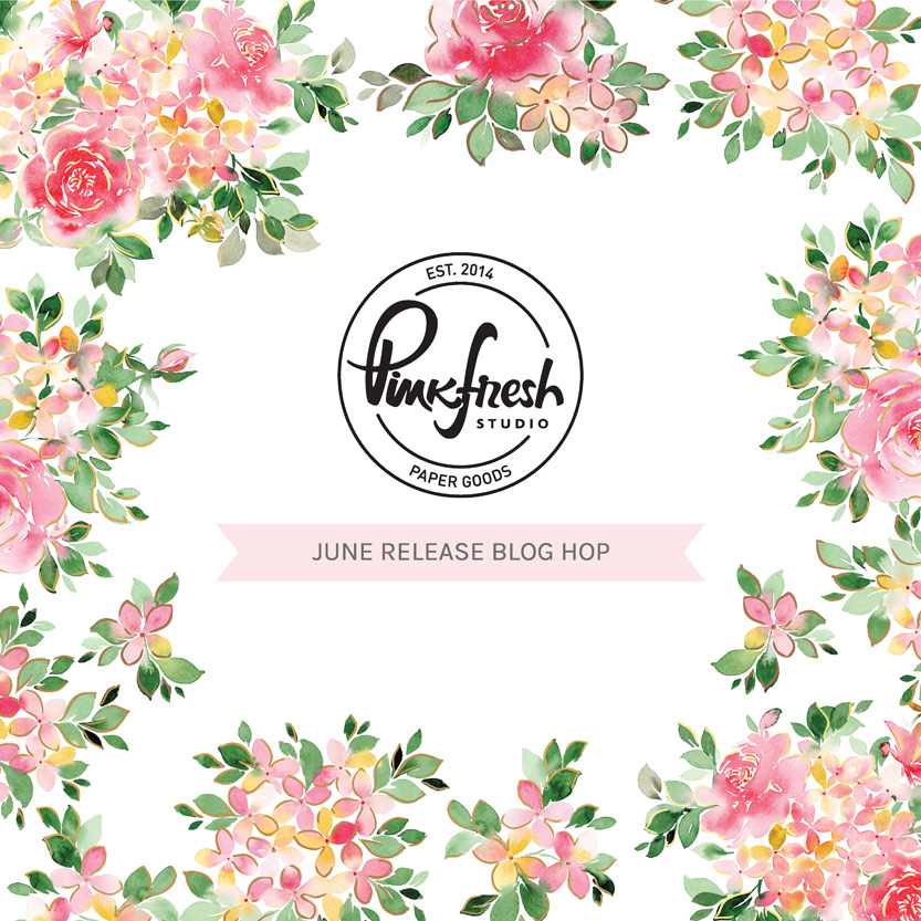 Read more about the article Pinkfresh Studio June 2021 Washi, Stamp, Die, Stencil and Hot Foil Release!