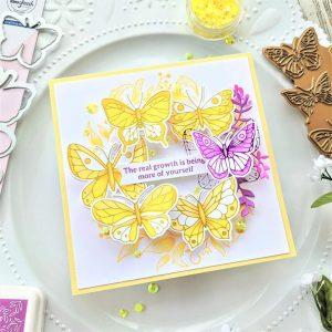 A Wreath of Butterflies