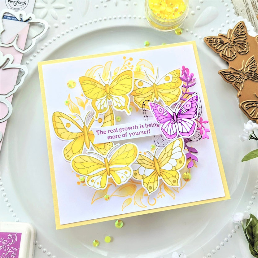 Read more about the article A Wreath of Butterflies