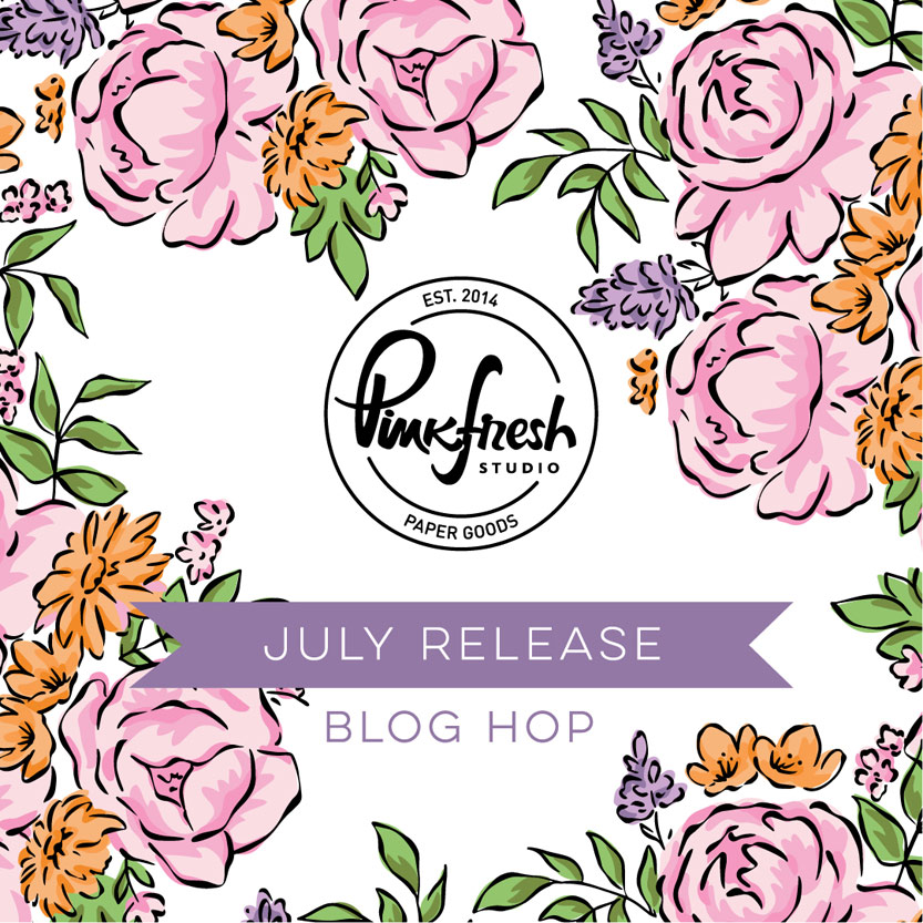 Read more about the article Pinkfresh Studio July Stamp, Die, Stencil, and Hot Foil Release